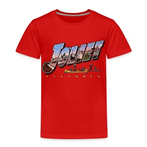 Joliet Illinois Throwback - Toddler Premium T-Shirt