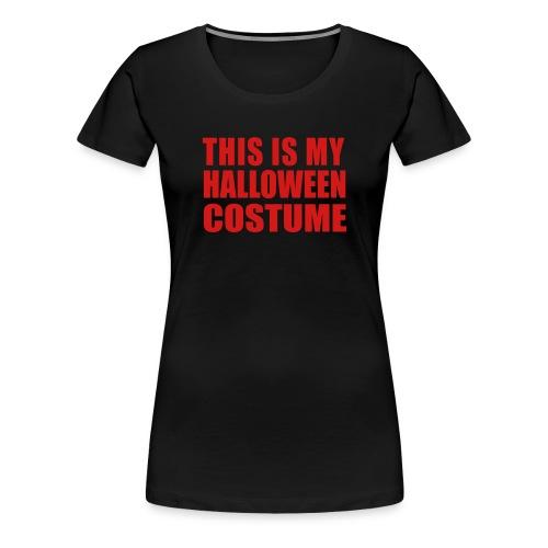 costume shirt - Women's Premium T-Shirt