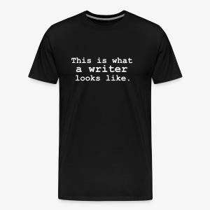 This is what a writer looks like. - Men's Premium T-Shirt