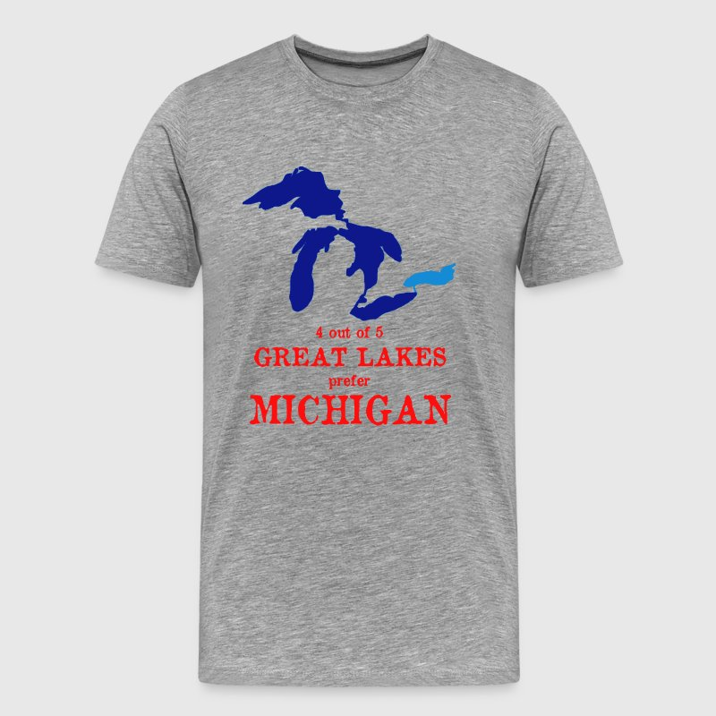 4 out of 5 Great Lakes T-Shirts - Men's Premium T-Shirt