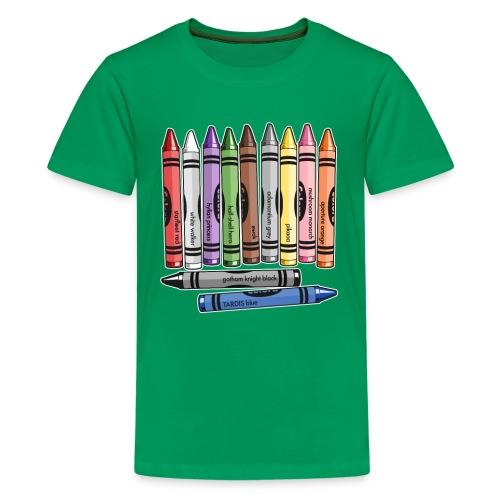 Color Me Nerdy - Kids' Premium T-Shirt