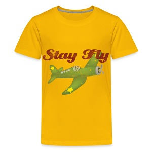 Fly, Baby, Fly!  - Kids' Premium T-Shirt