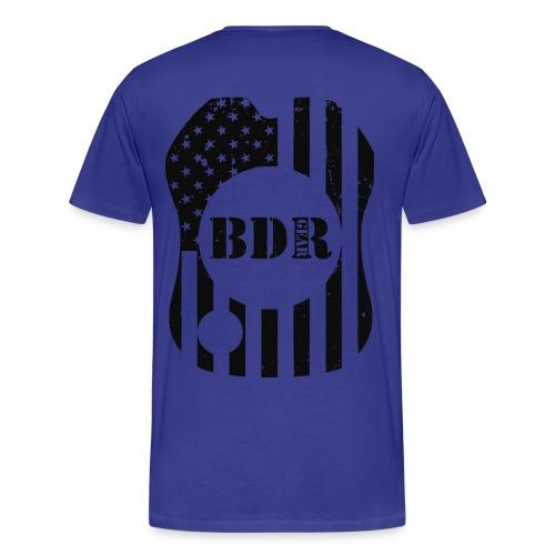 BDR Gear Double Sided Tee  - Men's Premium T-Shirt