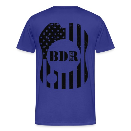 BDR Gear Double Sided Tee  - Men's Premium T-Shirt