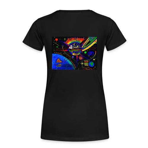 Lady Love Star Tee - Women's Premium T-Shirt