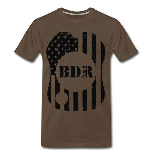 BDR Ol' Glory 3X - Men's Premium T-Shirt