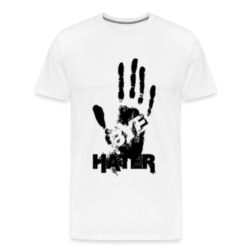 Bye Hater Mens Tshirt - Men's Premium T-Shirt