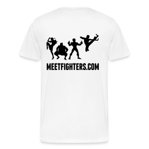 Fight Me NOW / Fighters light T-Shirt - Men's Premium T-Shirt