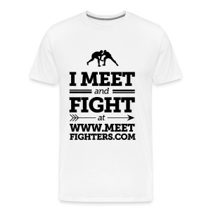 Meet and Fight / Fighters light T-Shirt - Men's Premium T-Shirt