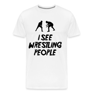Wrestling People / Fist light T-Shirt - Men's Premium T-Shirt