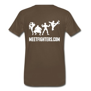 Meet and Fight / Fighters dark T-Shirt - Men's Premium T-Shirt
