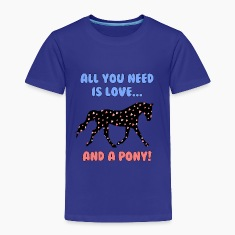Love and a Pony Baby & Toddler Shirts