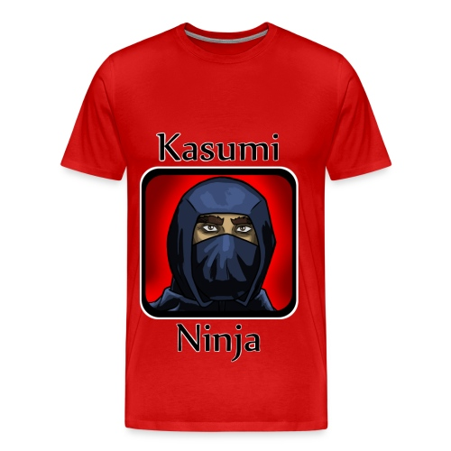 Kasumi Ninja Design #1 - Men's Premium T-Shirt