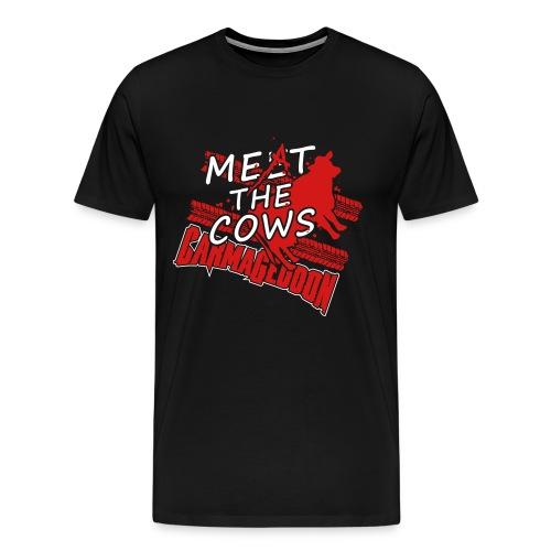 Meat the Cows - Men's Premium T-Shirt