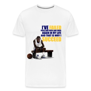 Laney 5s shirts-Jordan I've failed - Men's Premium T-Shirt