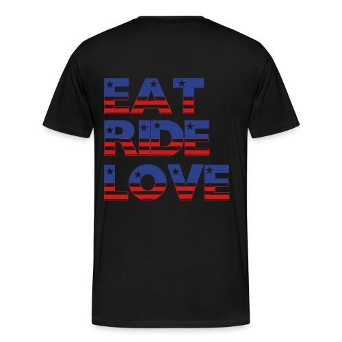 Eat, Ride, Love T-Shirt - Men's Premium T-Shirt