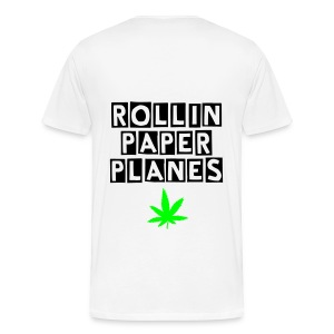 Baked apparel rollin paper planed graphic t-shirt - Men's Premium T-Shirt