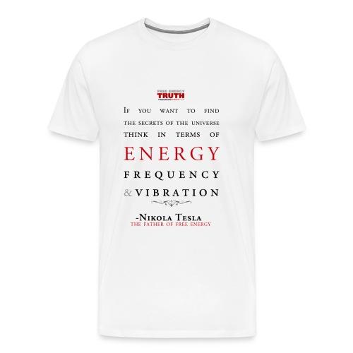 Tesla - Secrets of the Universe - Men's Premium T-Shirt