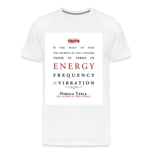 Tesla - Secrets of the Universe - Men's Premium T-Shirt