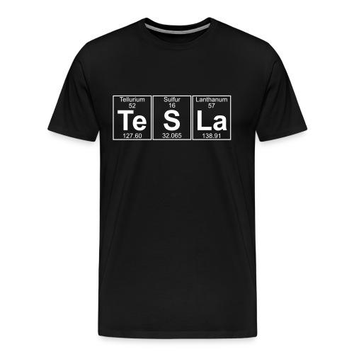 Tesla - Elements - Men's Premium T-Shirt
