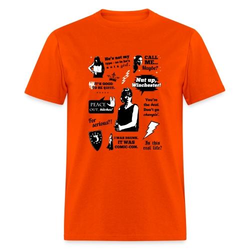 Charlie Quotes - Men's T-Shirt