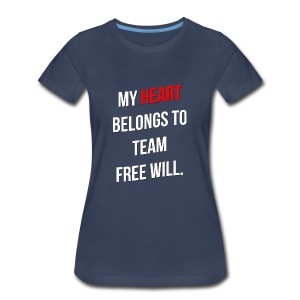 My Heart Belongs to TFW - Women's Premium T-Shirt