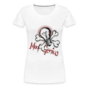 Mad Genius - Women's Premium T-Shirt