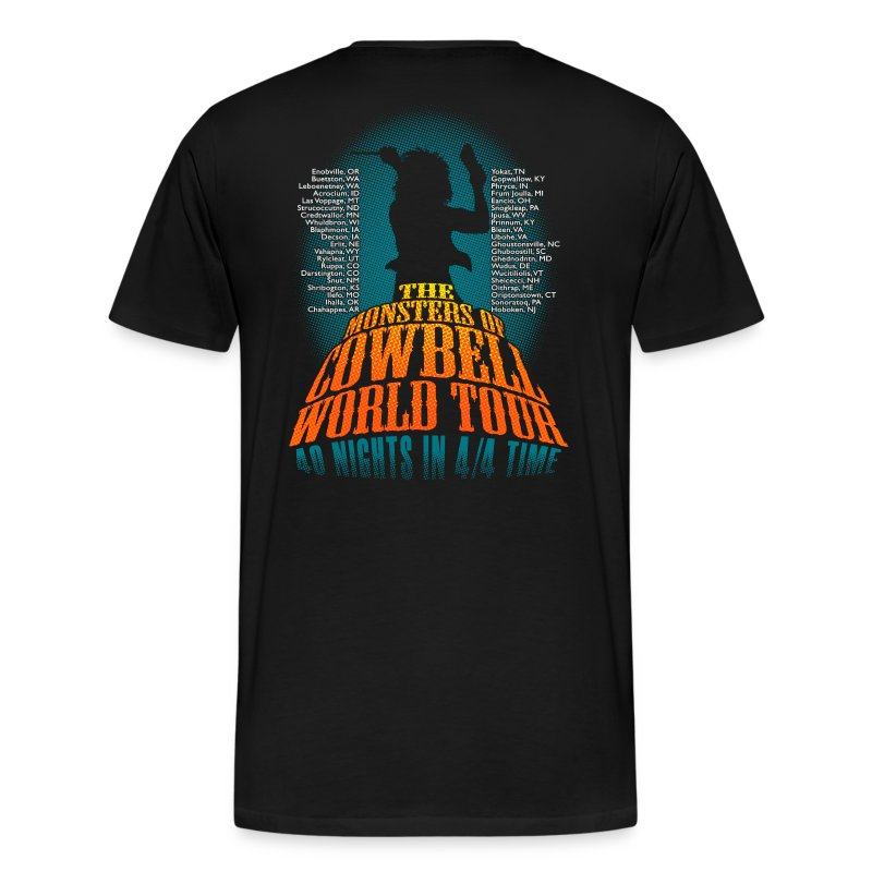 Monsters Of Cowbell - Men's Premium T-Shirt