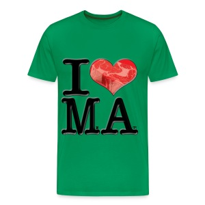 I Love MA - MeAt - Men's Premium T-Shirt