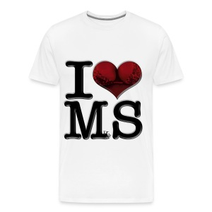 I Love MS - MilfS - Men's Premium T-Shirt