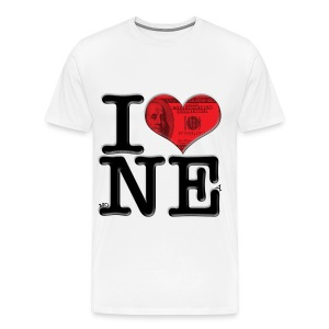 I Love NE - moNEy - Men's Premium T-Shirt