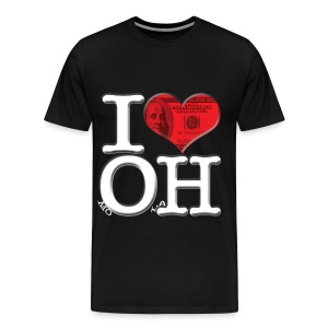 I Love OH - moOlaH - Men's Premium T-Shirt