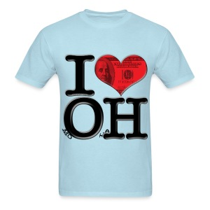 I Love OH - moOlaH - Men's T-Shirt