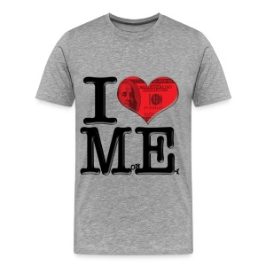 I Love ME - MonEy (for light-colored apparel) - Men's Premium T-Shirt