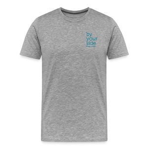 Men's Heavyweight T-Shirt - By Your Side logo - Men's Premium T-Shirt