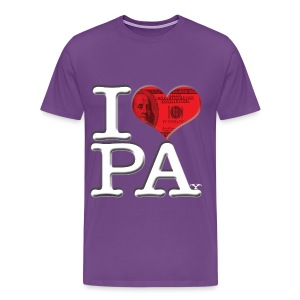 I Love PA - PAy (dark) - Men's Premium T-Shirt