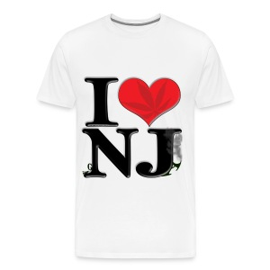 I Love NJ - gaNJa - Men's Premium T-Shirt