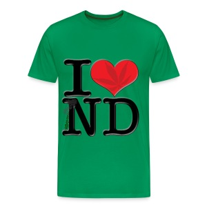 I Love ND - contrabaND - Men's Premium T-Shirt