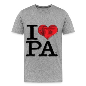 I Love PA - PAy (light) - Men's Premium T-Shirt