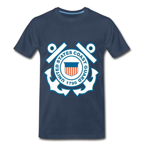 coast gaurd - Men's Premium T-Shirt
