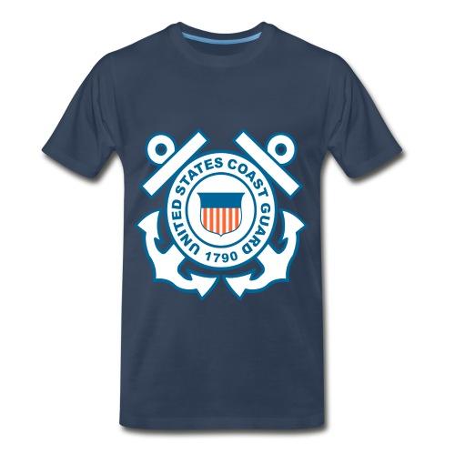 coast gaurd - Men's Premium T-Shirt