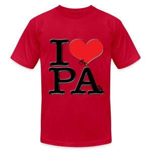 I Love PA - PAin - Men's Fine Jersey T-Shirt
