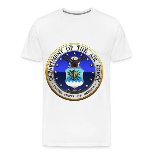 air force seal - Men's Premium T-Shirt