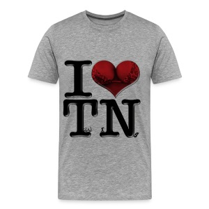 I Love TN - TwiNs - Men's Premium T-Shirt