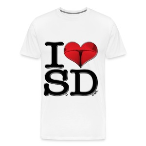 I Love SD - SoDomy - Men's Premium T-Shirt