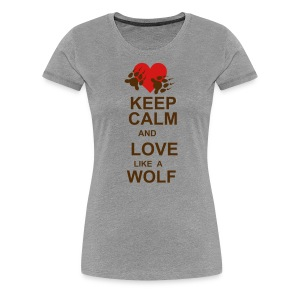 Love Like A Wolf - Lost Girl - Women's Premium T-Shirt
