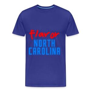 STATE YOUR FLAVOR: NORTH CAROLINA-TURQUOISE - Men's Premium T-Shirt