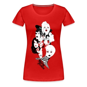 Miss Needles Tribute women's plus size - Women's Premium T-Shirt