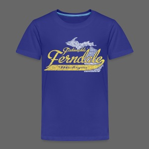 Fashionable Ferndale Michigan - Toddler Premium T-Shirt