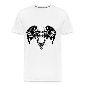 Tribal Skull - Men's Premium T-Shirt
